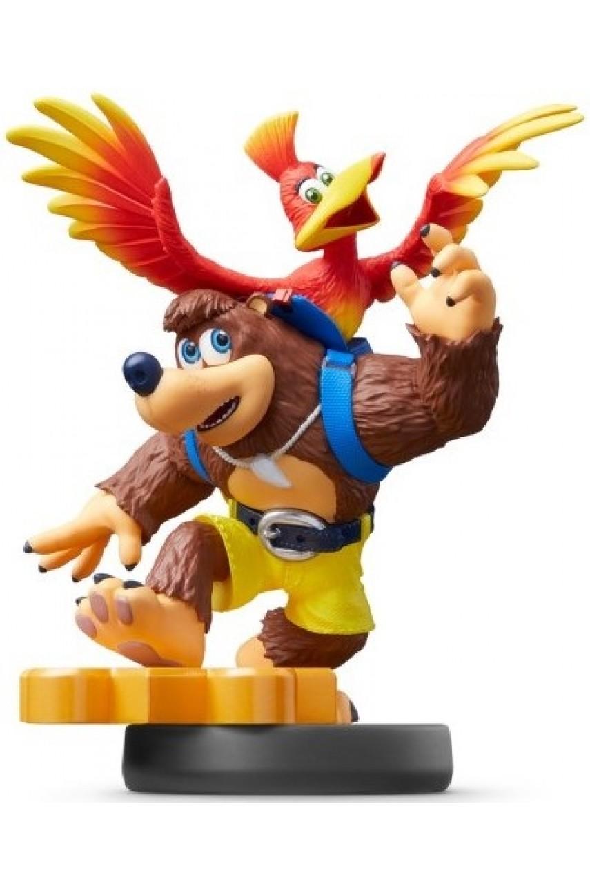 Фигурка Банджо и Казуи. Super Smash Bros. Collection (Banjo-Kazooie Amiibo)