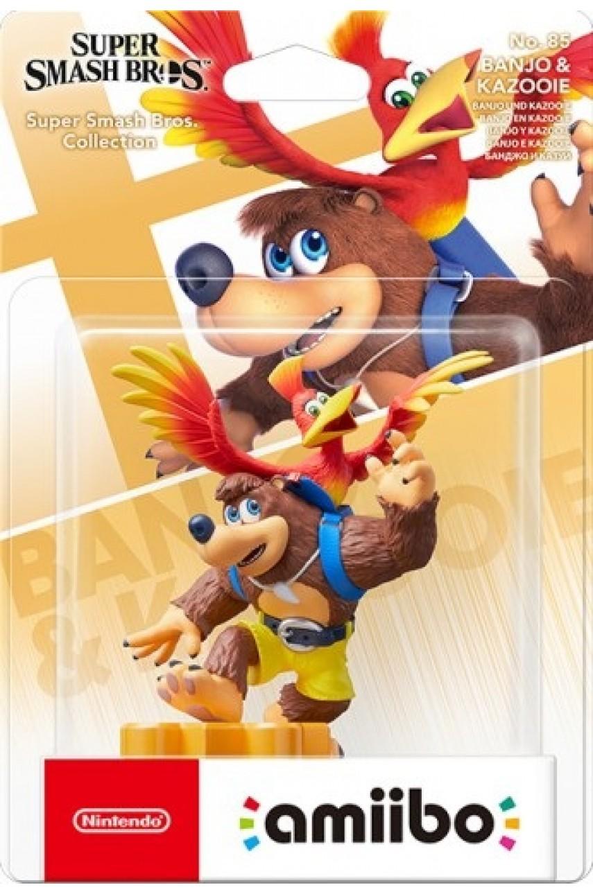Amiibo фигурка Банджо и Казуи / Banjo-Kazooie из коллекции Super Smash Bros