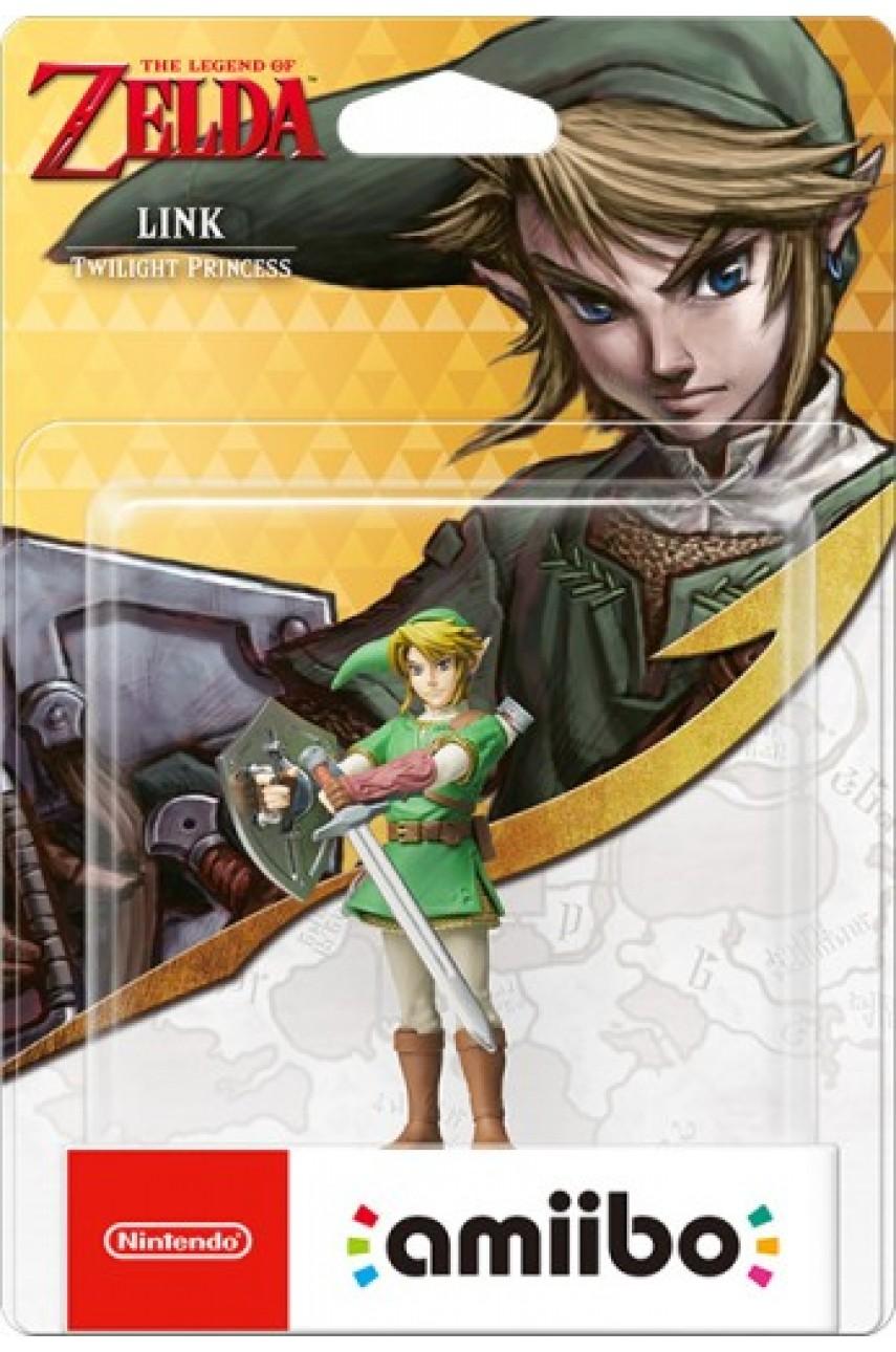 Фигурка Амибо Линк (Twilight Princess)/Link из коллекции The Legend of Zelda (Amiibo)