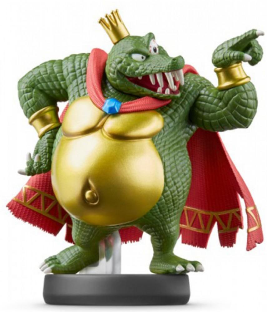 Фигурка Кинг К. Роль. Super Smash Bros. Collection (King K. Rool Amiibo)