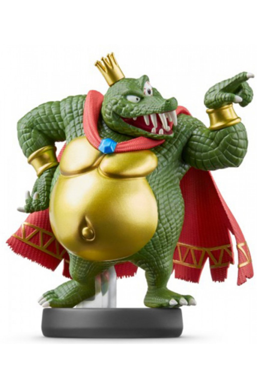 Фигурка Кинг К. Роль. Super Smash Bros. Collection (King K. Rool Amiibo)
