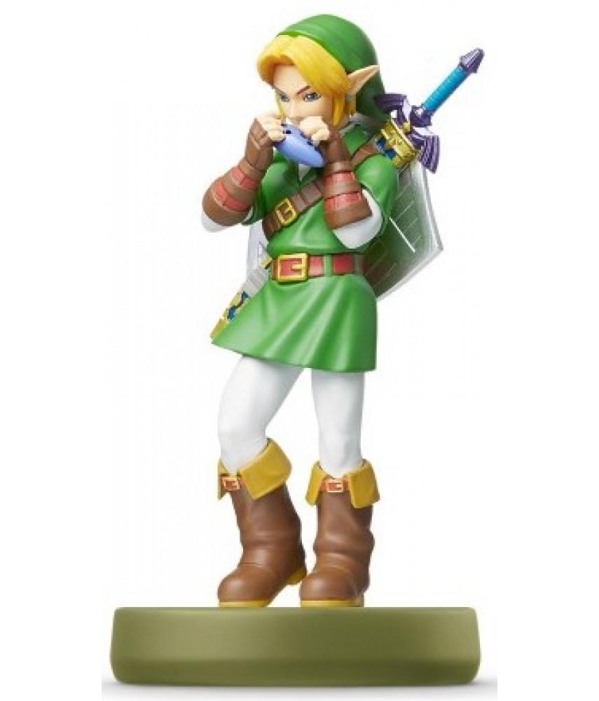 Фигурка Линк Окарина времени The Legend of Zelda Collection (Link Ocarina of Time Amiibo)