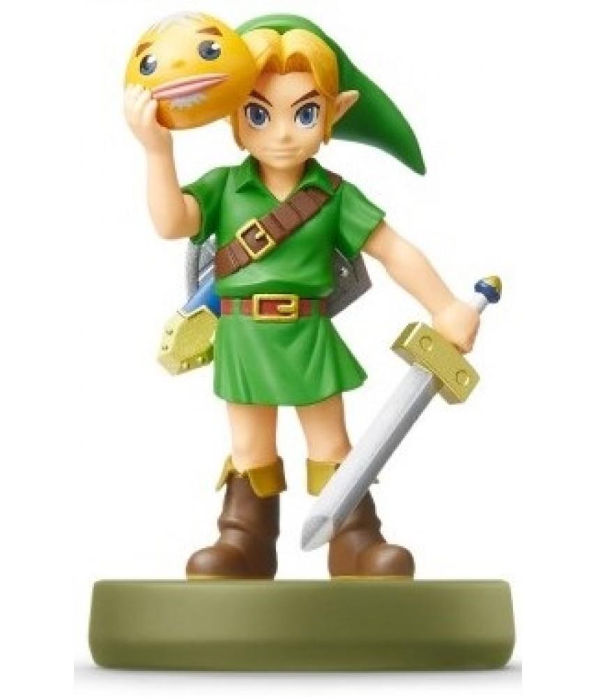 Фигурка Линк Majora`s Mask. The Legend of Zelda Collection (Link Majora`s Mask Awakening Amiibo)