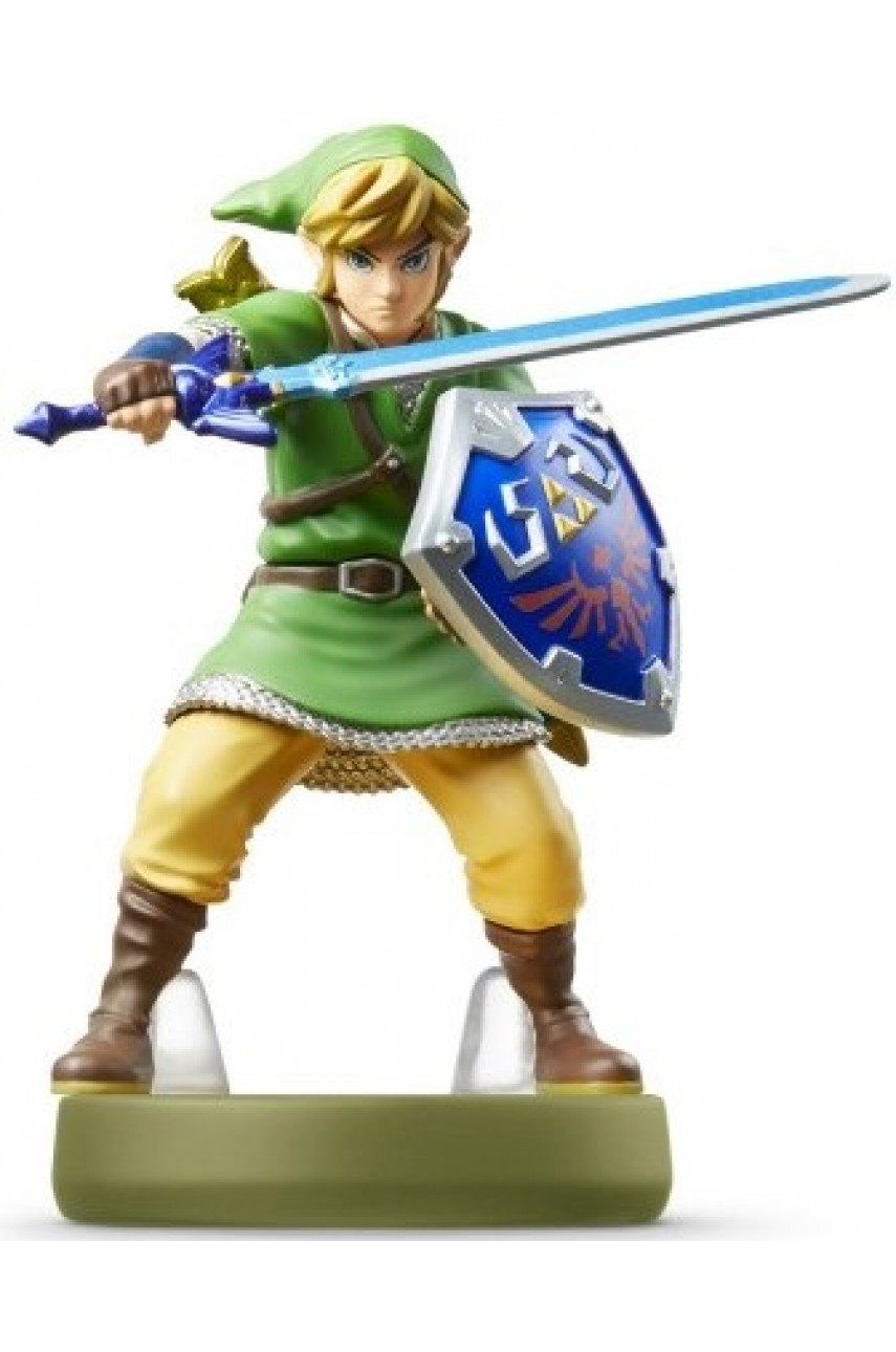 Фигурка Линк Небесный меч The Legend of Zelda Collection (Link Skyward Sword Amiibo)