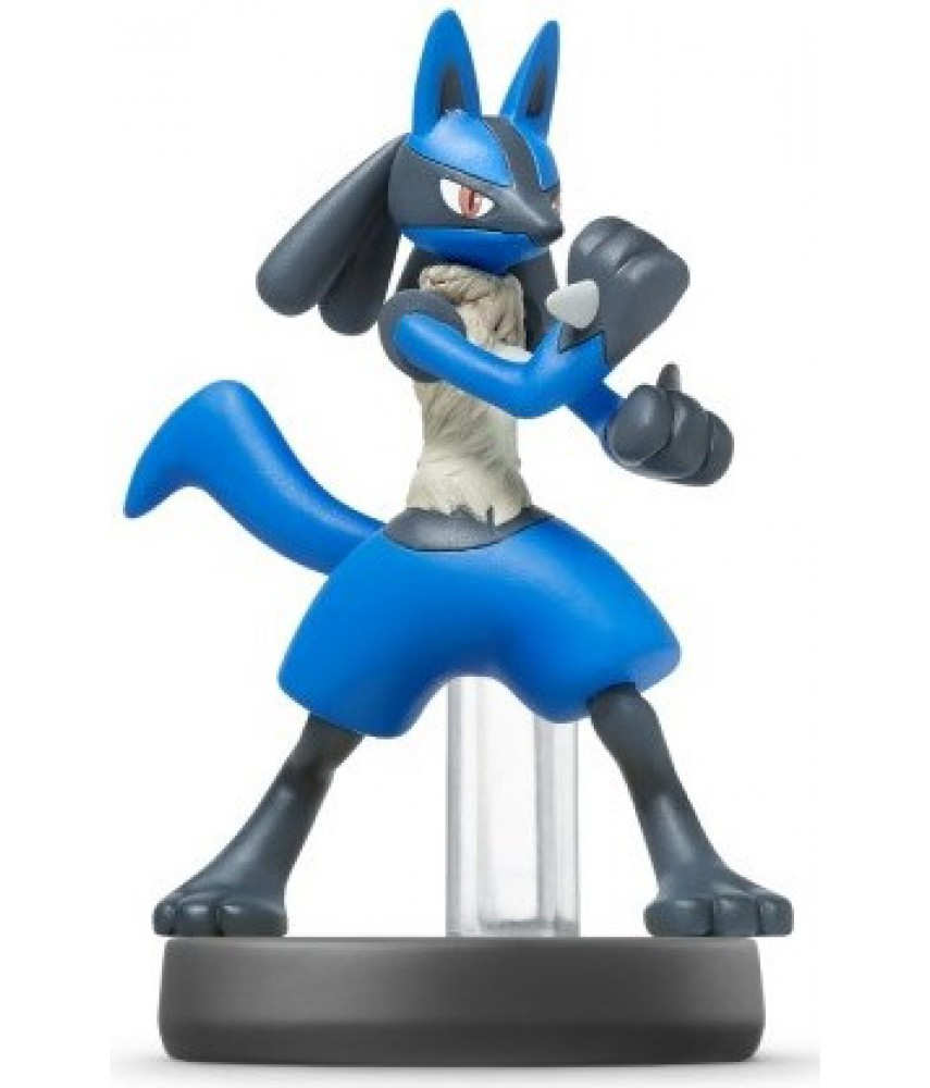 Фигурка Лукарио. Super Smash Bros. Collection (Lucario Amiibo)