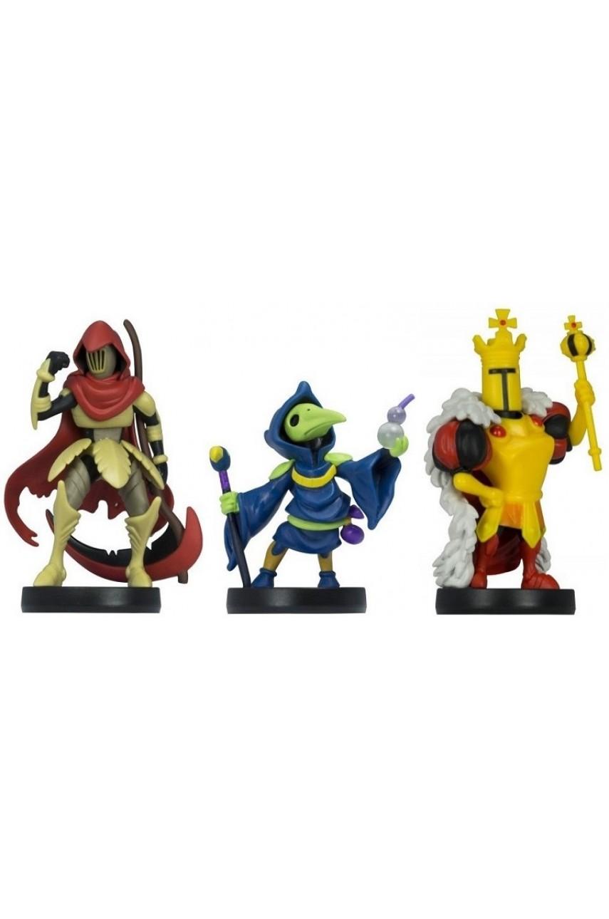 Набор из 3-х фигурок Amiibo Shovel Knight Treasure Trove (коллекция Shovel Knight)