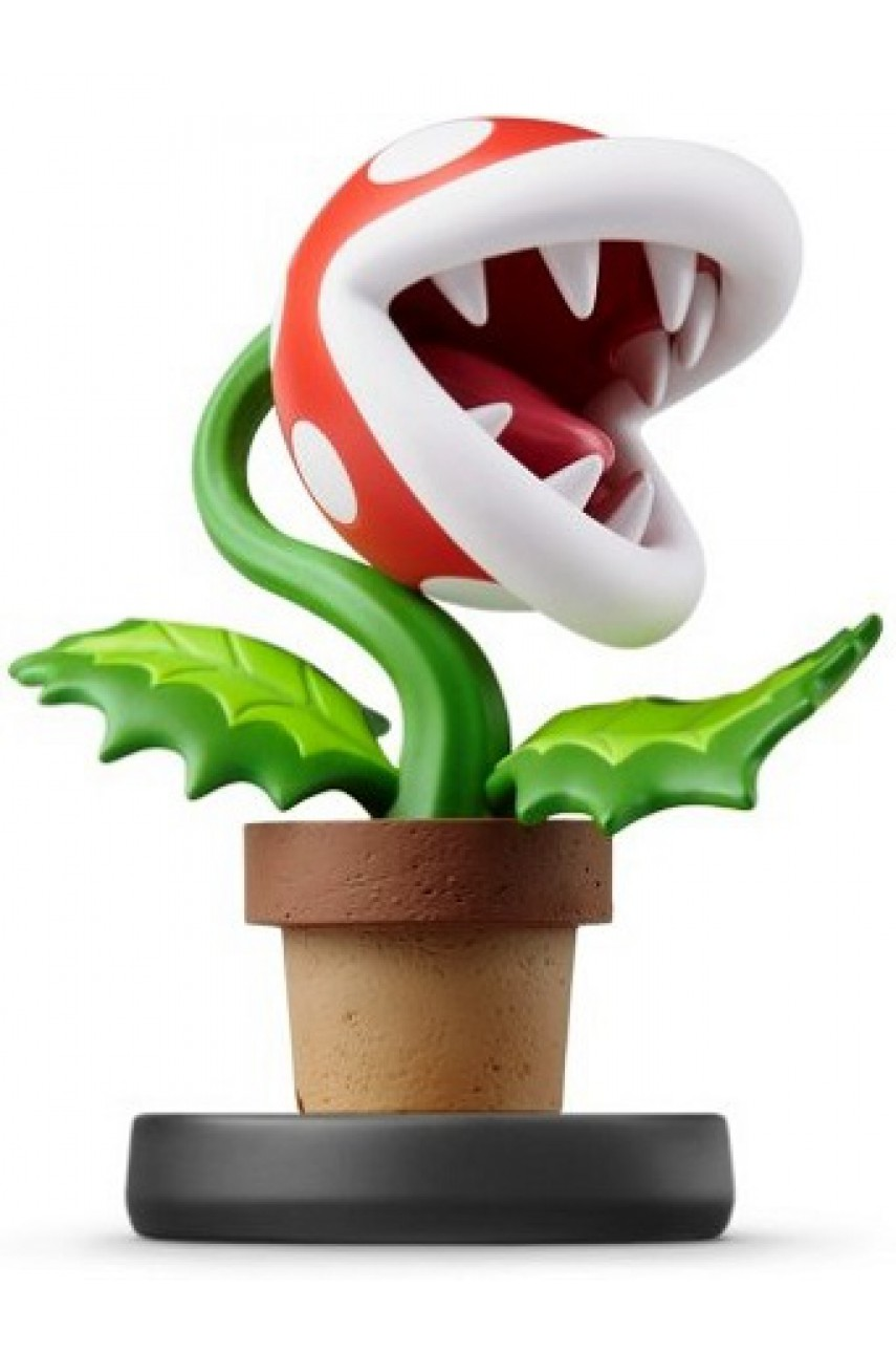Фигурка Растение-пиранья. Super Smash Bros. Collection (Piranha Plant Amiibo)