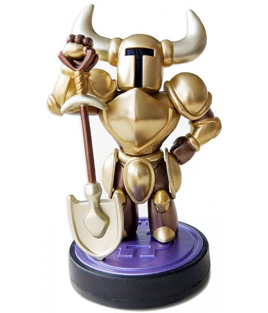 Фигурка Shovel Knight Treasure Trove: Gold (коллекция Shovel Knight) (Amiibo)