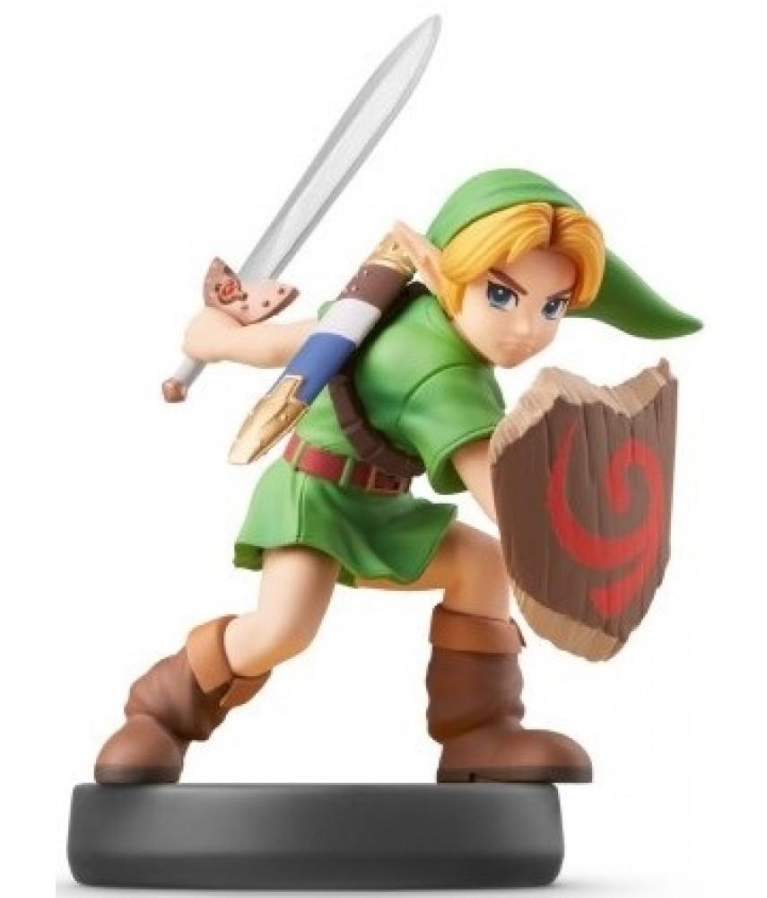 Фигурка Юный Линк. Super Smash Bros. Collection (Young Link Amiibo)
