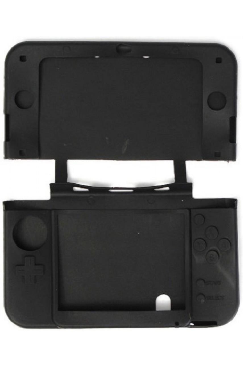 Силиконовый чехол для New Nintendo 3DS (чёрный)