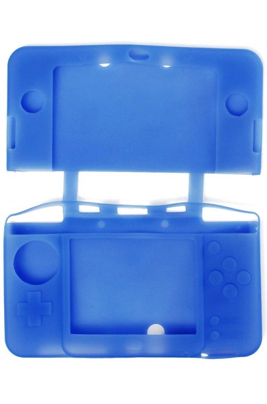 Силиконовый чехол для New Nintendo 3DS (синий)