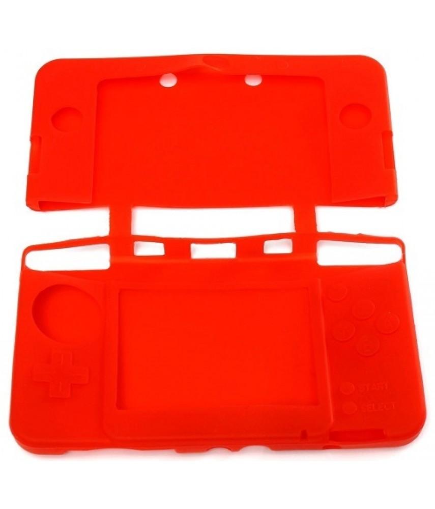 Силиконовый чехол для New Nintendo 3DS (красный)