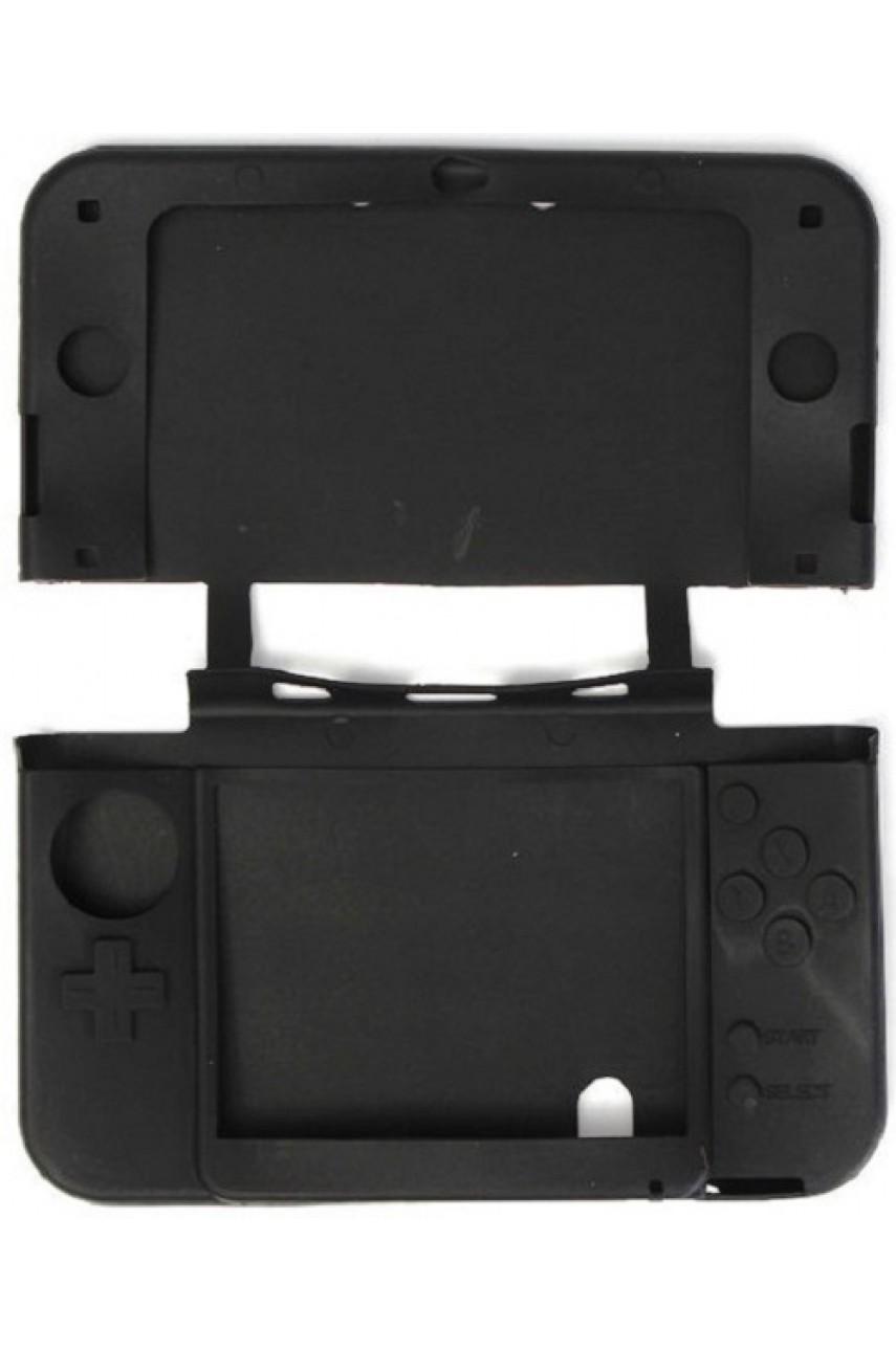 Силиконовый чехол для New Nintendo 3DS XL (чёрный)