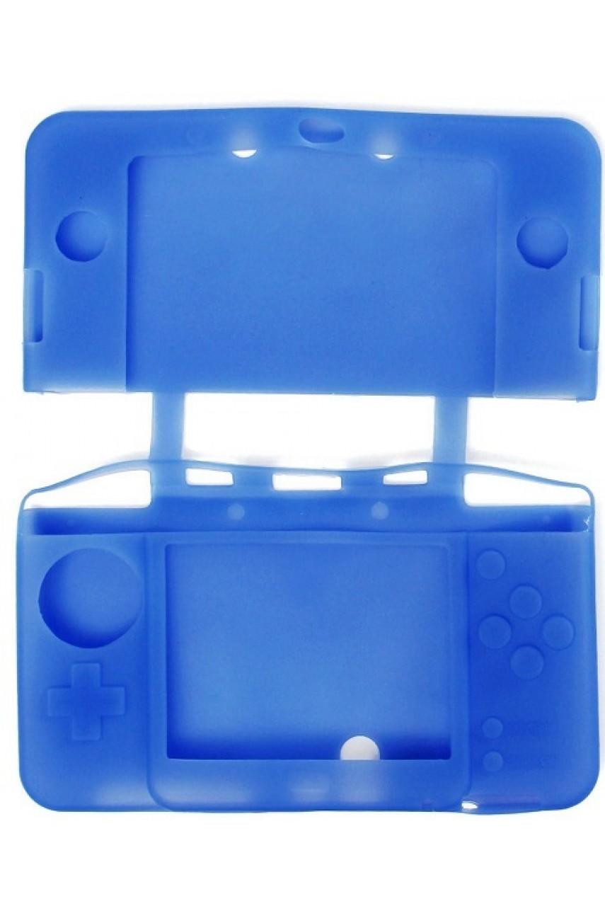 Силиконовый чехол для New Nintendo 3DS XL (синий)