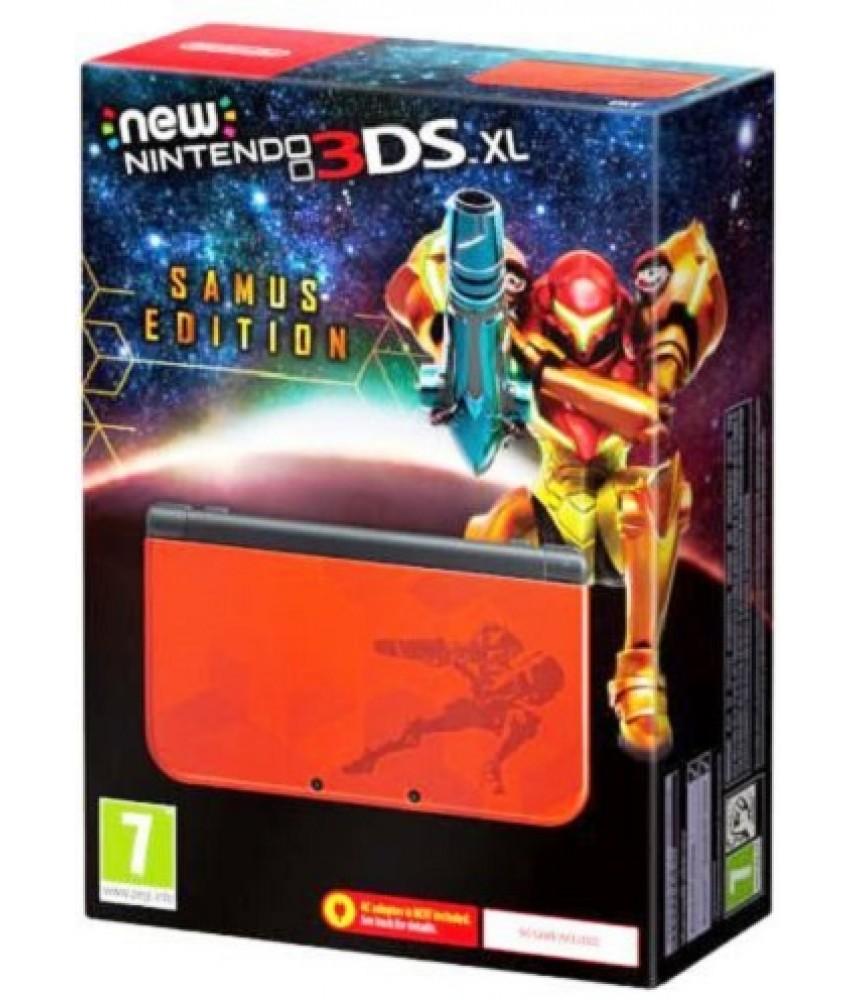 New Nintendo 3DS XL Samus Edition Metroid