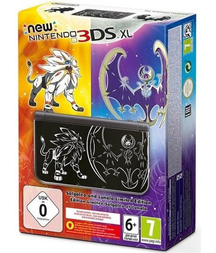"""New Nintendo 3DS XL Solgaleo and Lunala Edition """"Ограниченное Издание"""""""