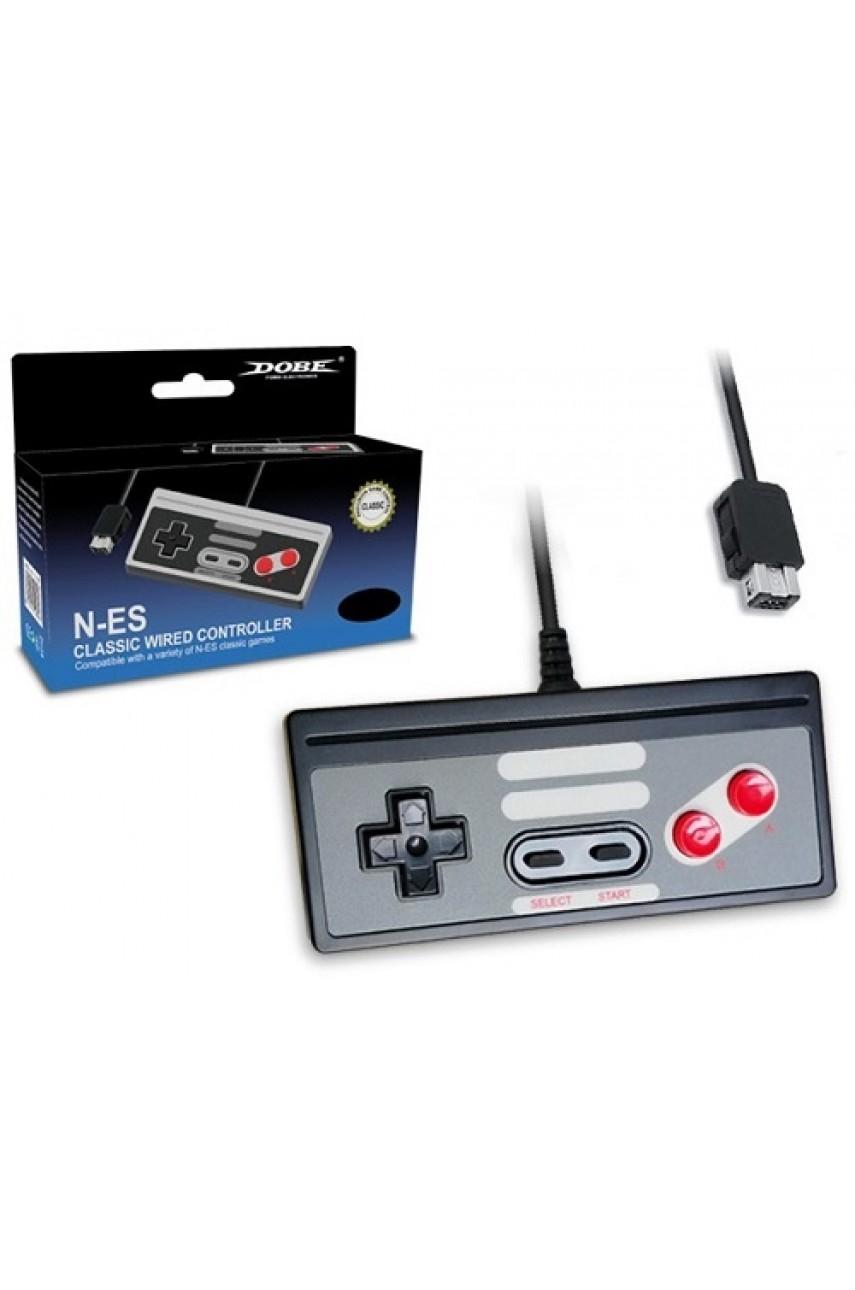 Проводной Controller Classic для NES mini (DOBE TY-840)