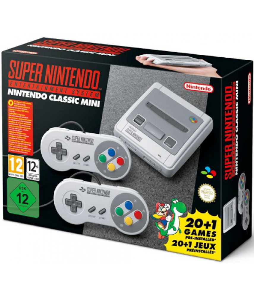 Nintendo Classic SNES Mini - Super Nintendo Entertainment System