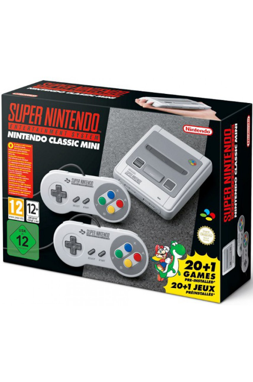Nintendo Classic SNES Mini - Super Nintendo Entertainment System