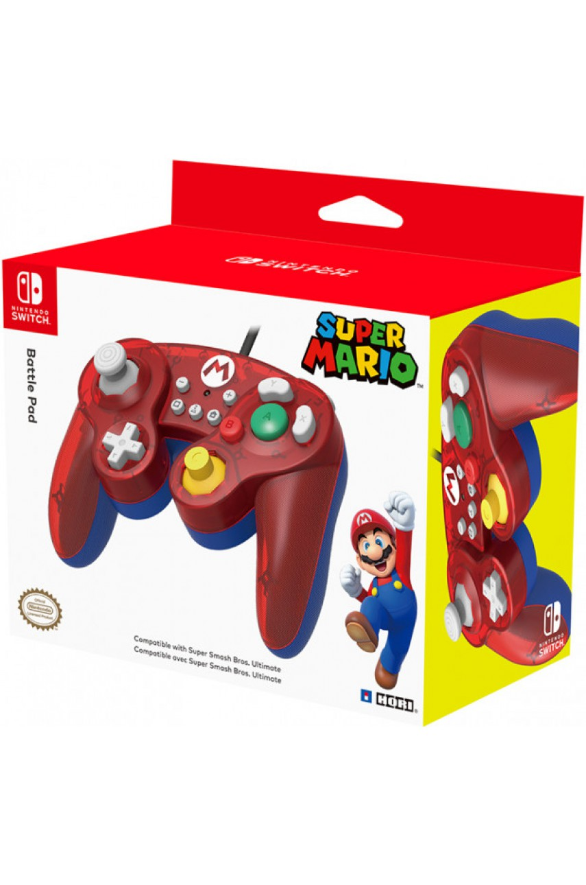 Геймпад Battle Pad Mario для Nintendo Switch (Hori NSW-107U)