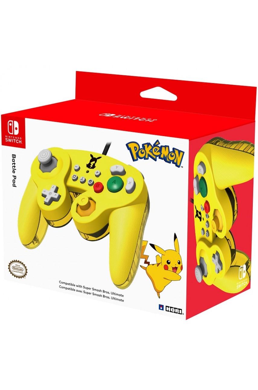 Геймпад Battle Pad Pikachu для Nintendo Switch (Hori NSW-109U)