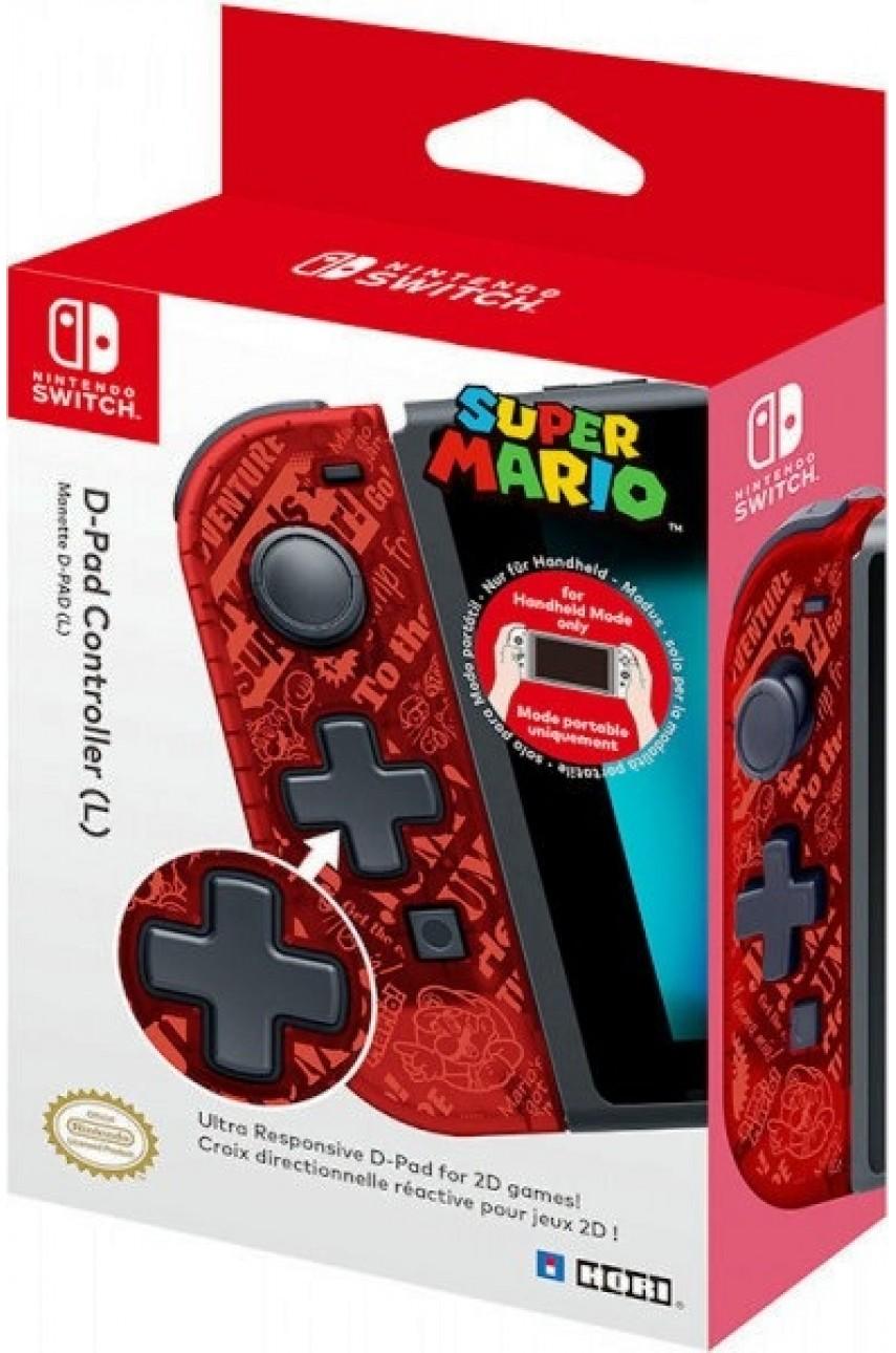 Контроллер D-PAD Mario (L) для Nintendo Switch (Hori NSW-118E)