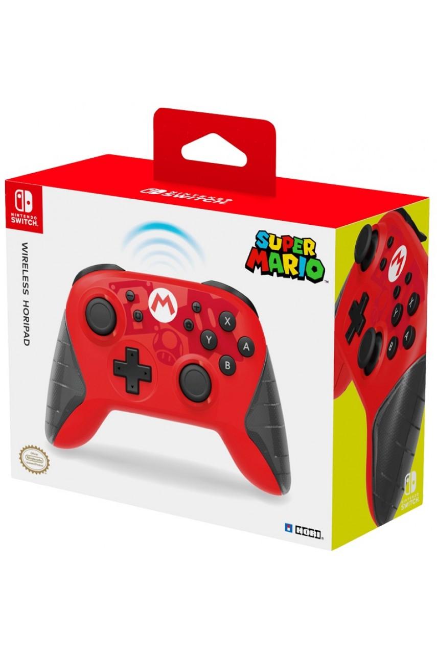 Беспроводной HORIPAD Mario Edition для Nintendo Switch