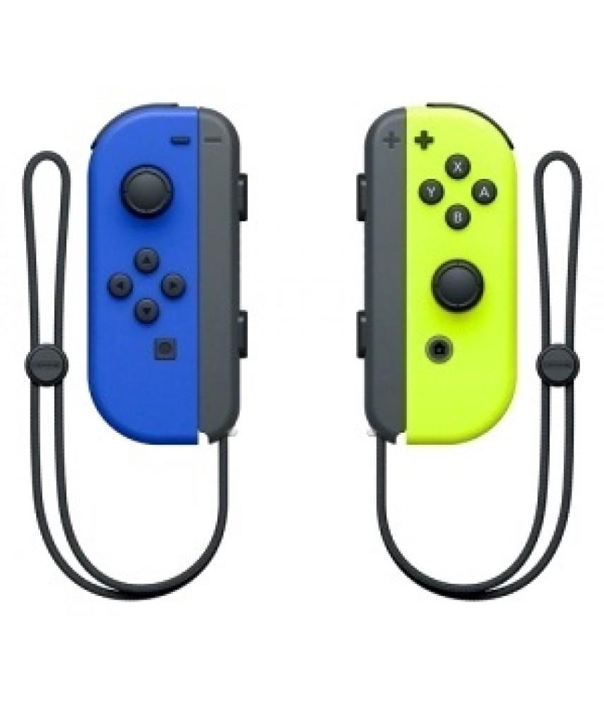 Контроллер Nintendo Joy-Con 2шт Blue / Neon Yellow