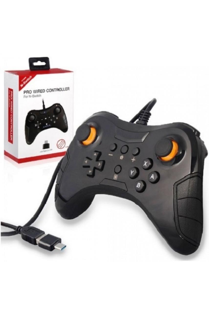 Проводной DOBE Pro Wired Controller для Nintendo Switch
