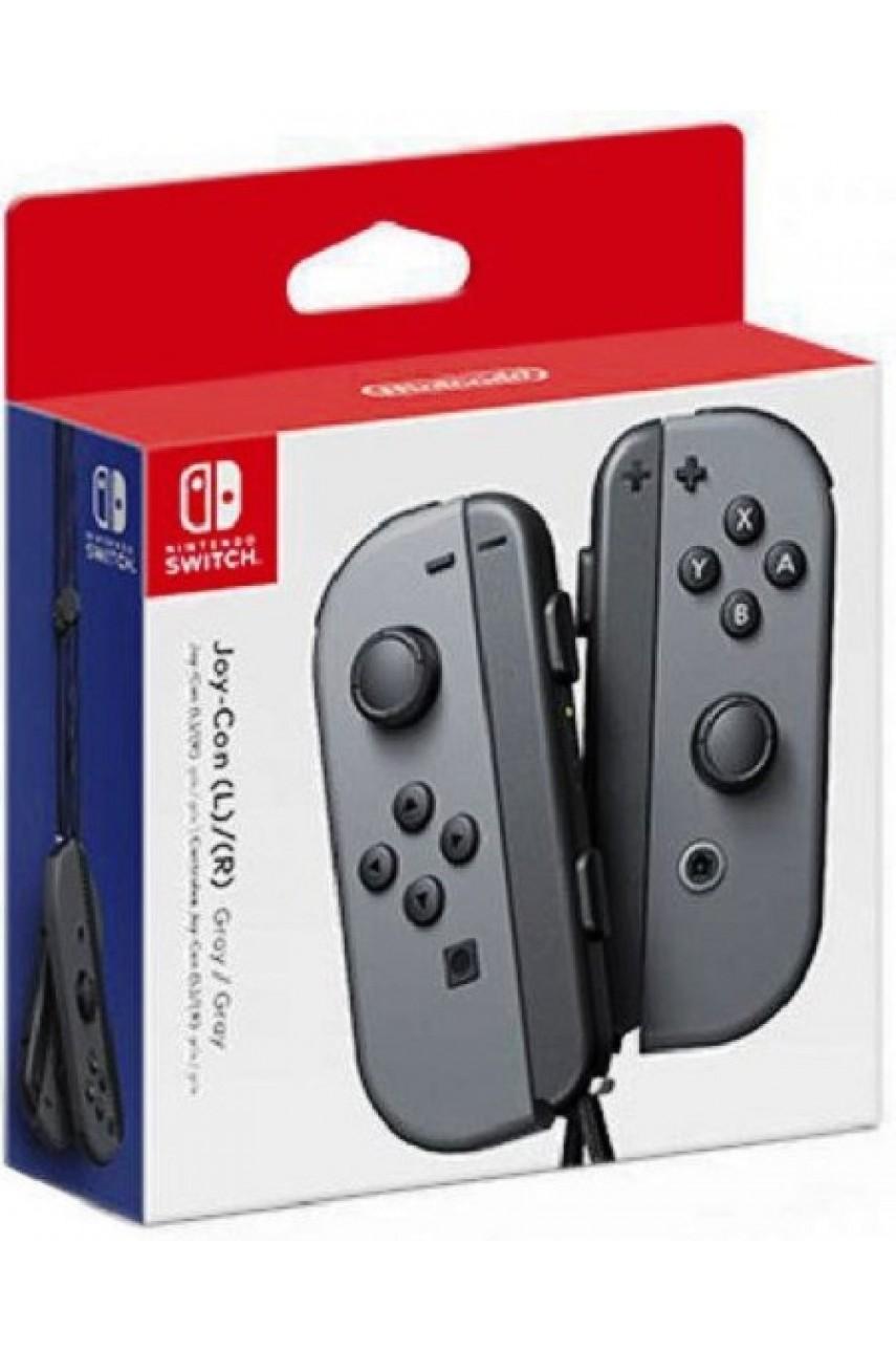 Набор 2-а контроллера Joy-Con для Nintendo Switch (серый)