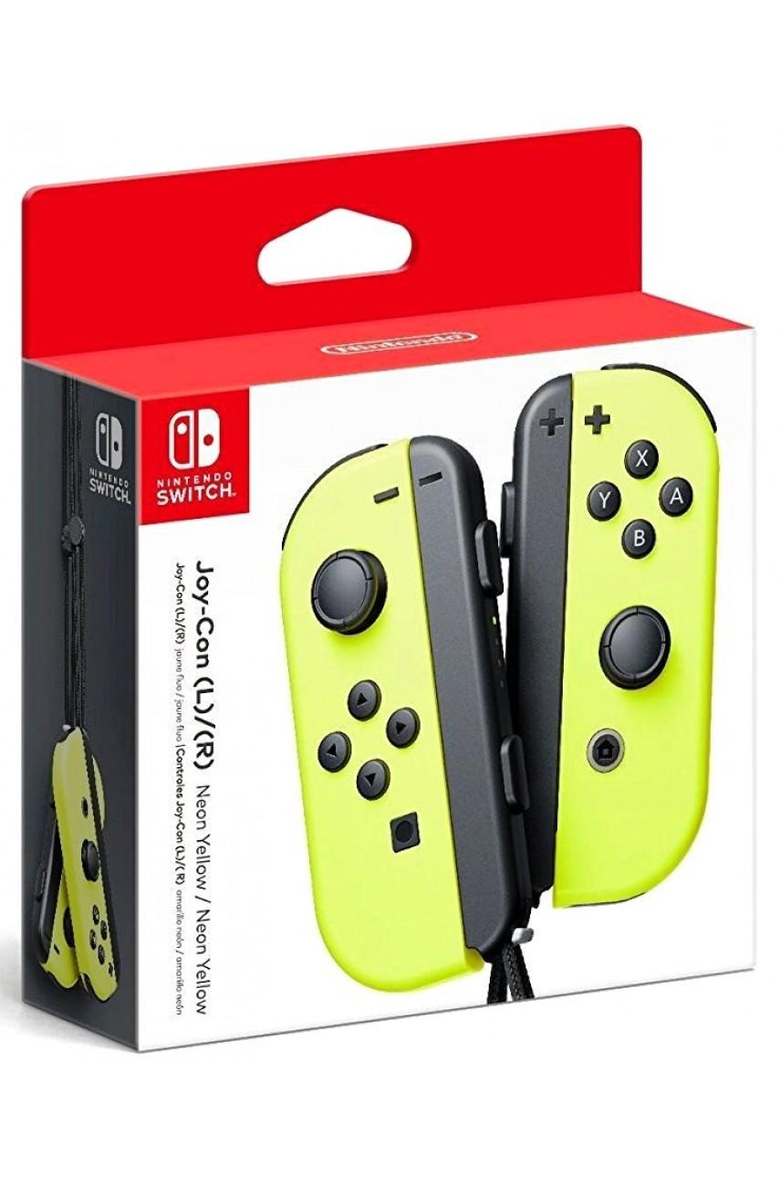 Набор 2-а контроллера Joy-Con для Nintendo Switch (Yellow)