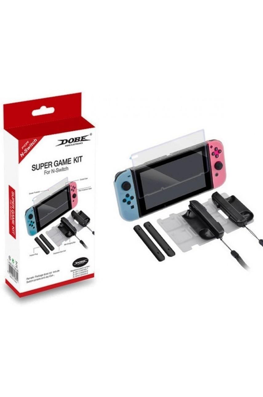 Набор Super Game Kit  6 в 1 Nintendo Switch (DOBE TNS-1880)