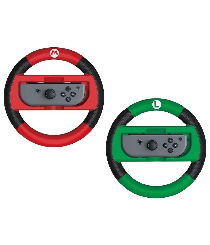 Руль Hori Mario/Luigi для Nintendo Switch