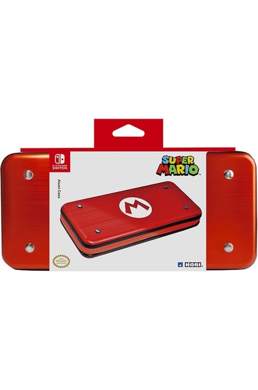 Алюминиевый чехол Hori Mario для Nintendo Switch