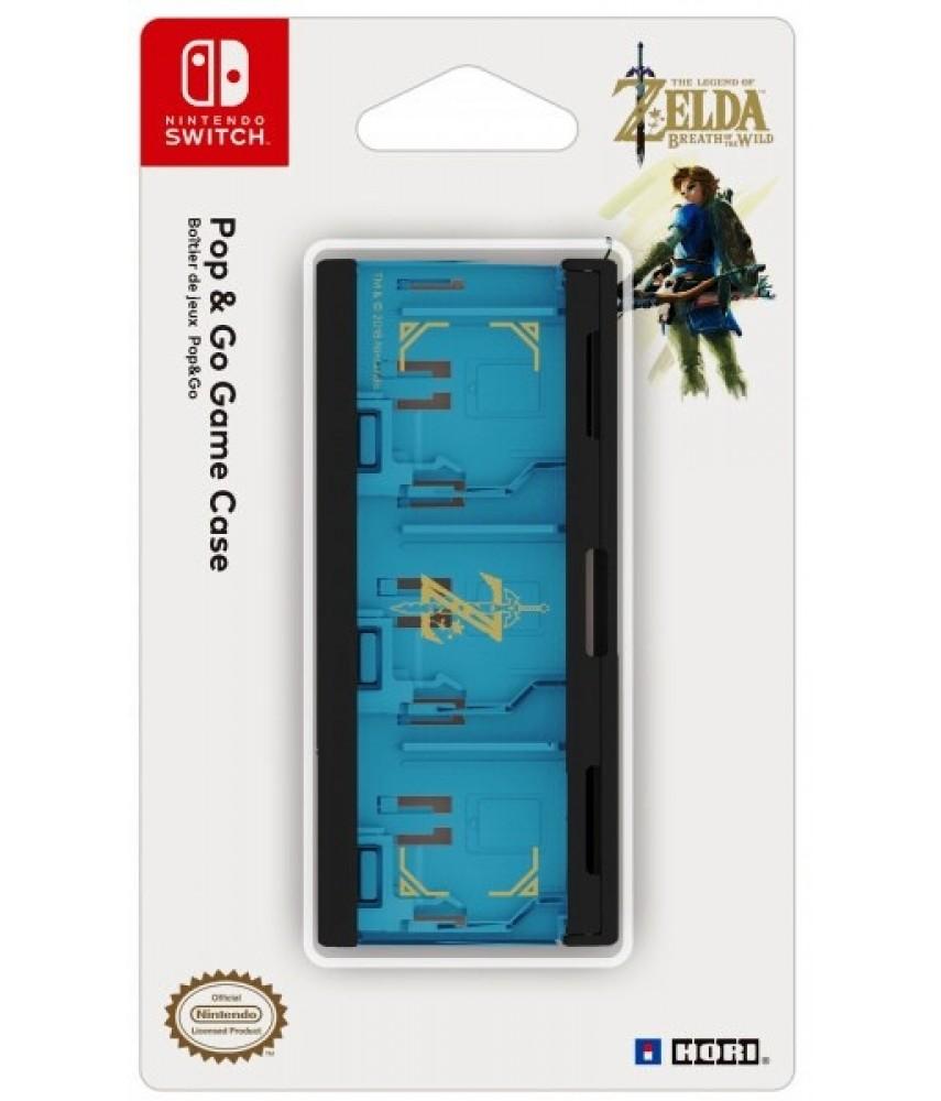 Кейс Zelda для хранения картриджей Nintendo Switch (HORI NSW-097U)