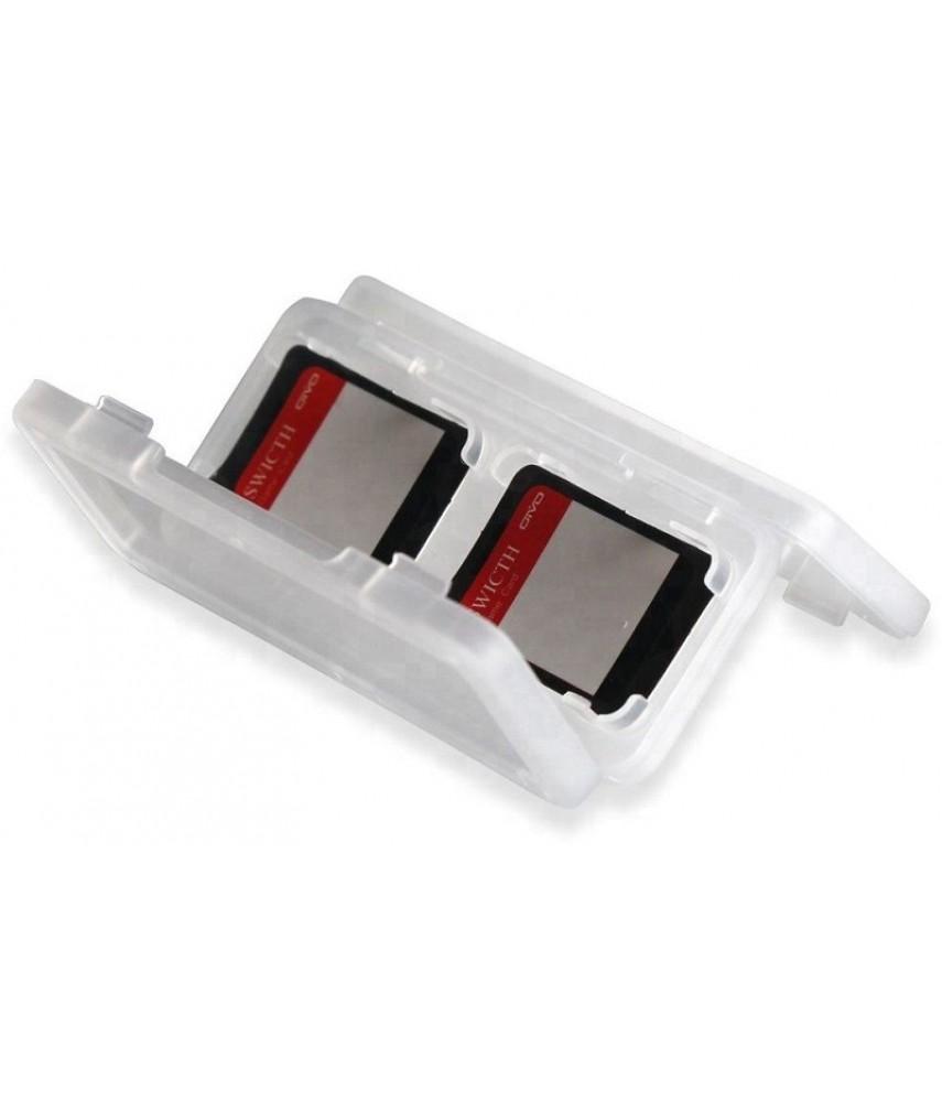 Набор из 2-х кейсов для хранения картриджей Nintendo Switch (OIVO IV-SW004)