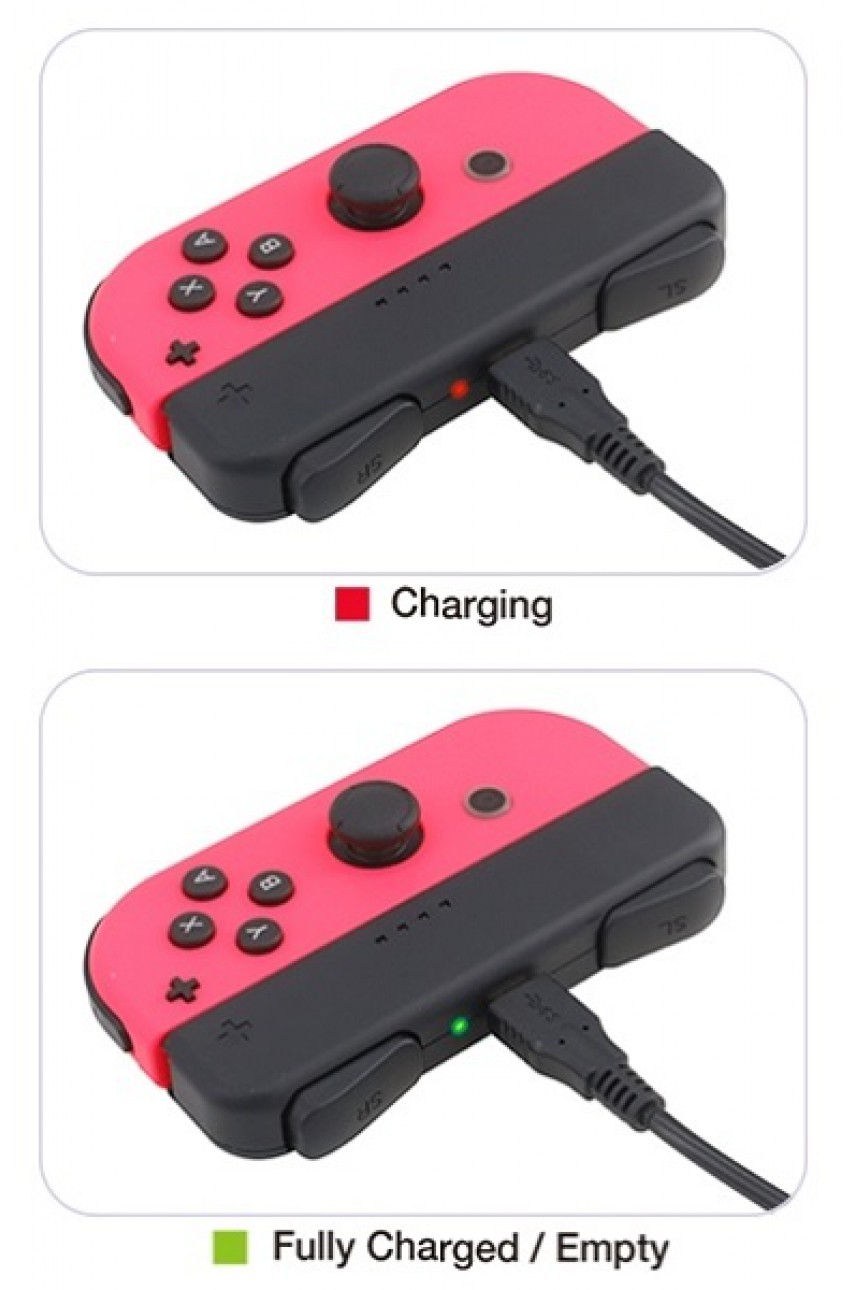 Mini Charging Grip Joy-Con Nintendo Switch (DOBE TNS-1729)