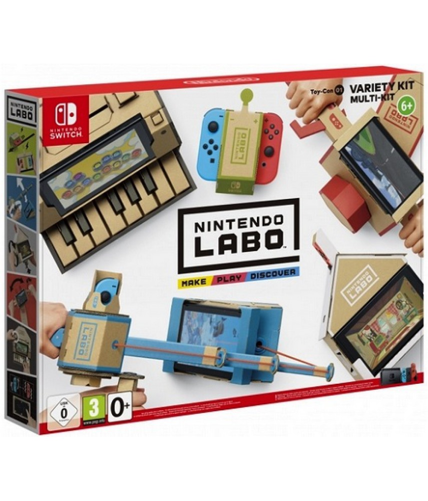 Набор «Ассорти» Nintendo Labo
