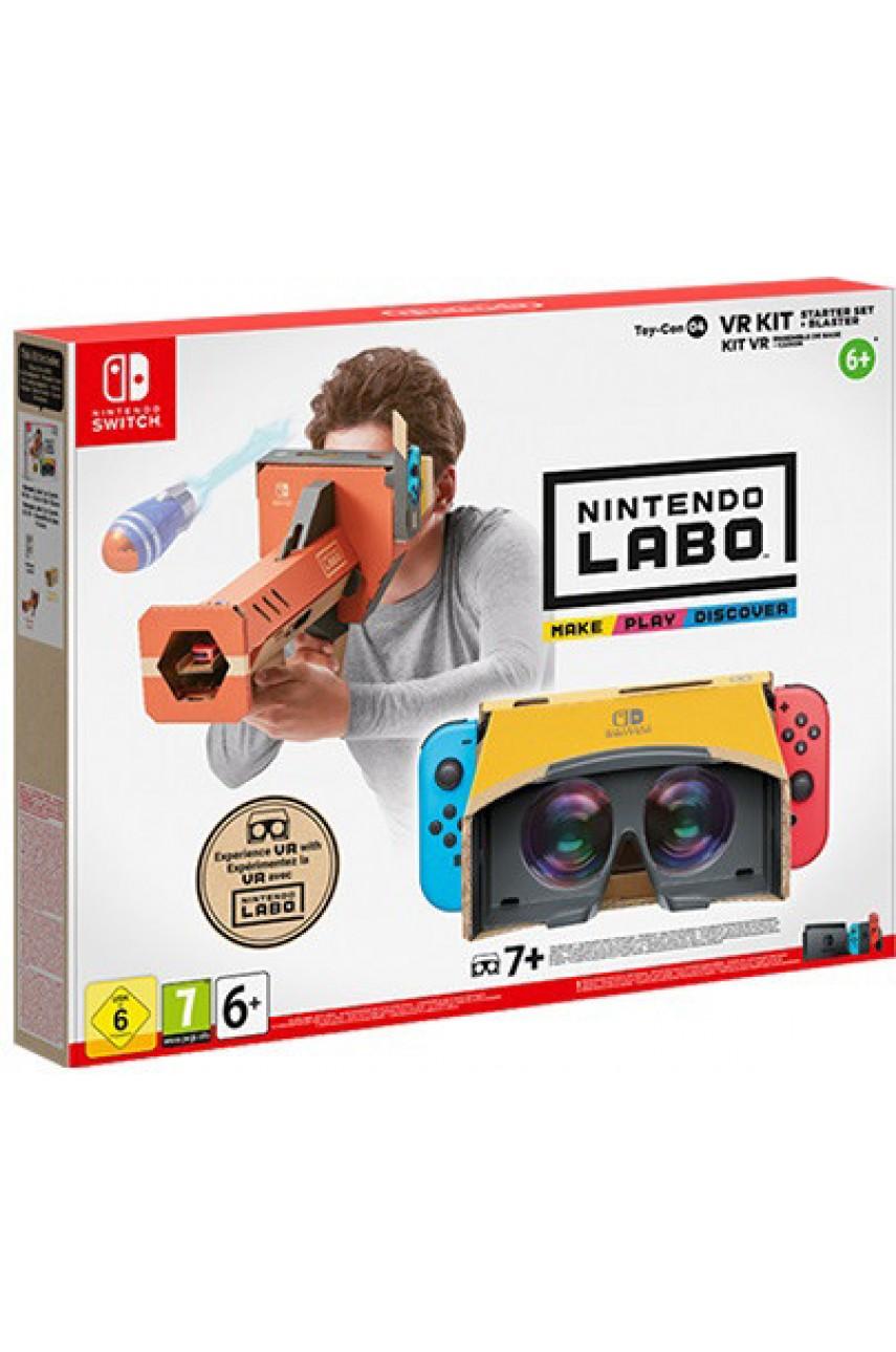 Набор VR стартовый набор + бластер Nintendo Labo (Nintendo Switch)