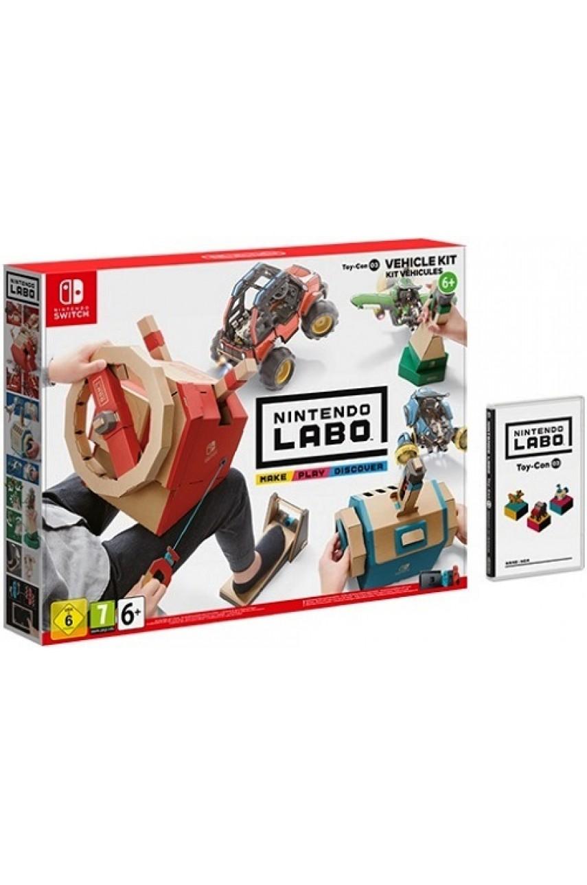Набор «Транспорт» Nintendo Labo