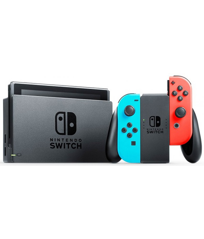 Игровая приставка Nintendo Switch (NeonRed/NeonBlue)