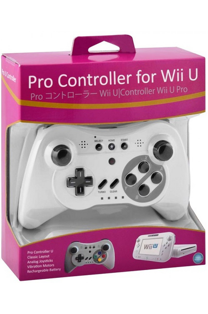 Контроллер Wii U Bluetooth Pro Controller