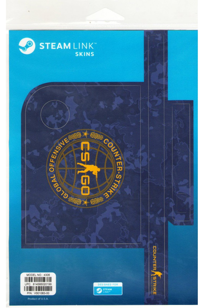 Комплект пластиковых накладок Blue Camo для Steam Link