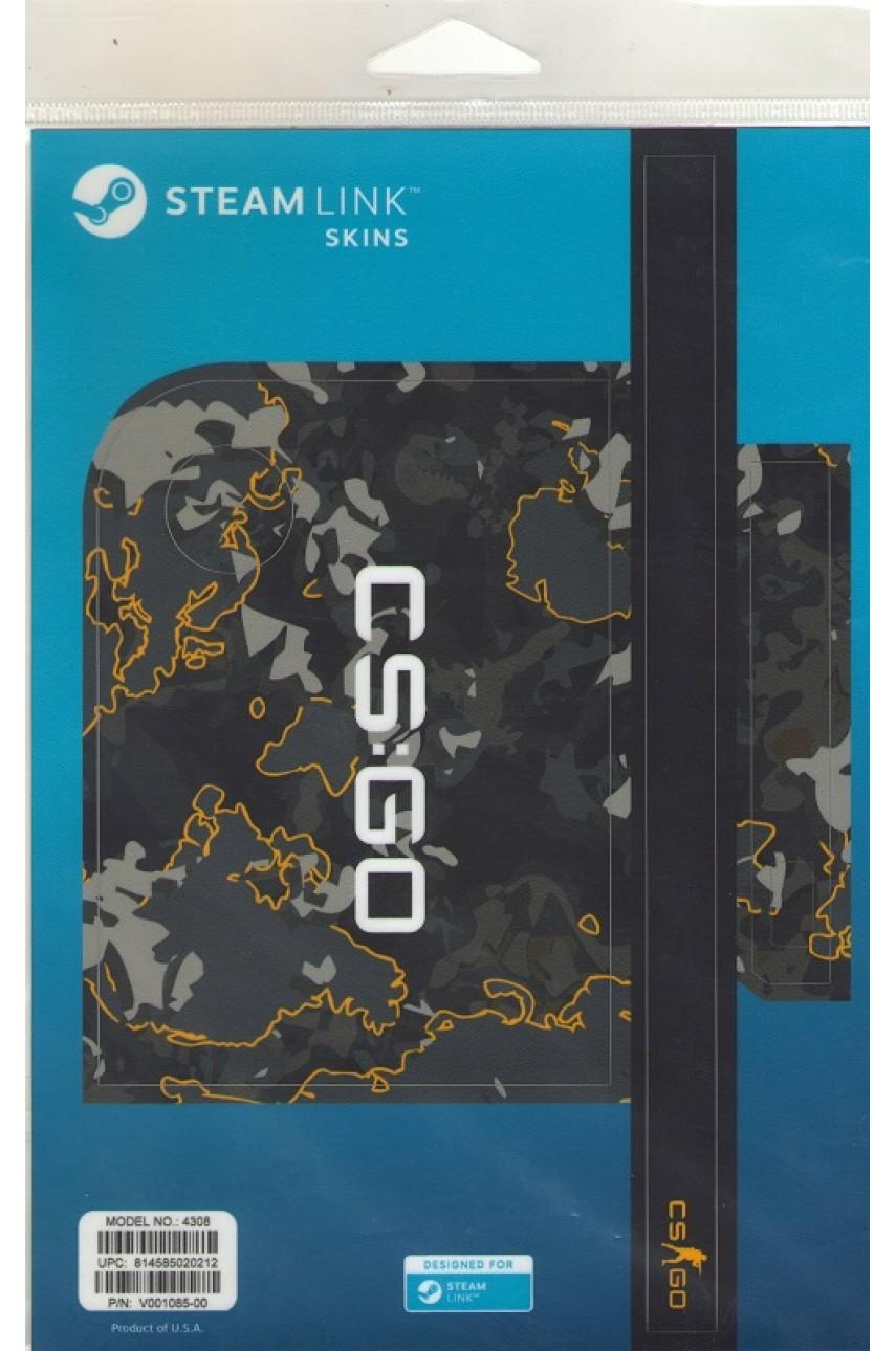 Комплект пластиковых накладок CSGO Grey Camo для Steam Link