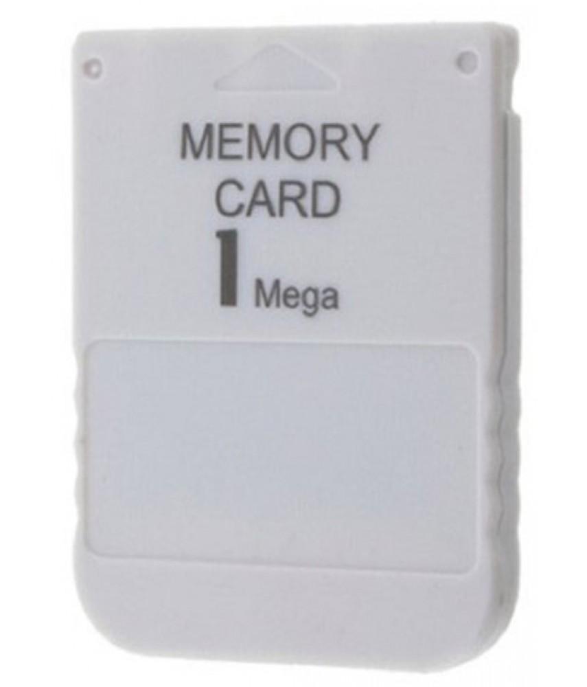 Карта памяти PS One (PSX) Memory Card 1MB