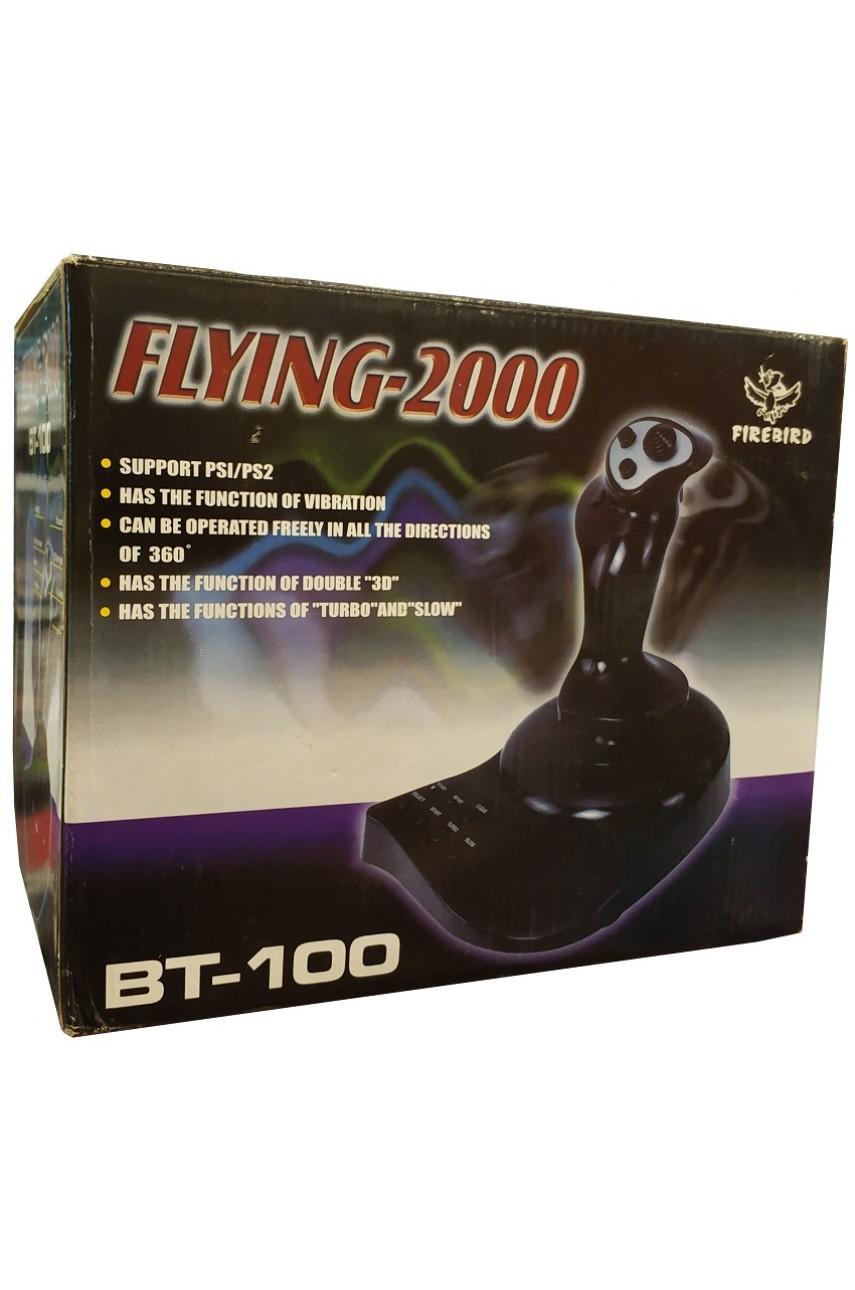 Штурвал Flying-2000 BT-100 для PS1/PS2