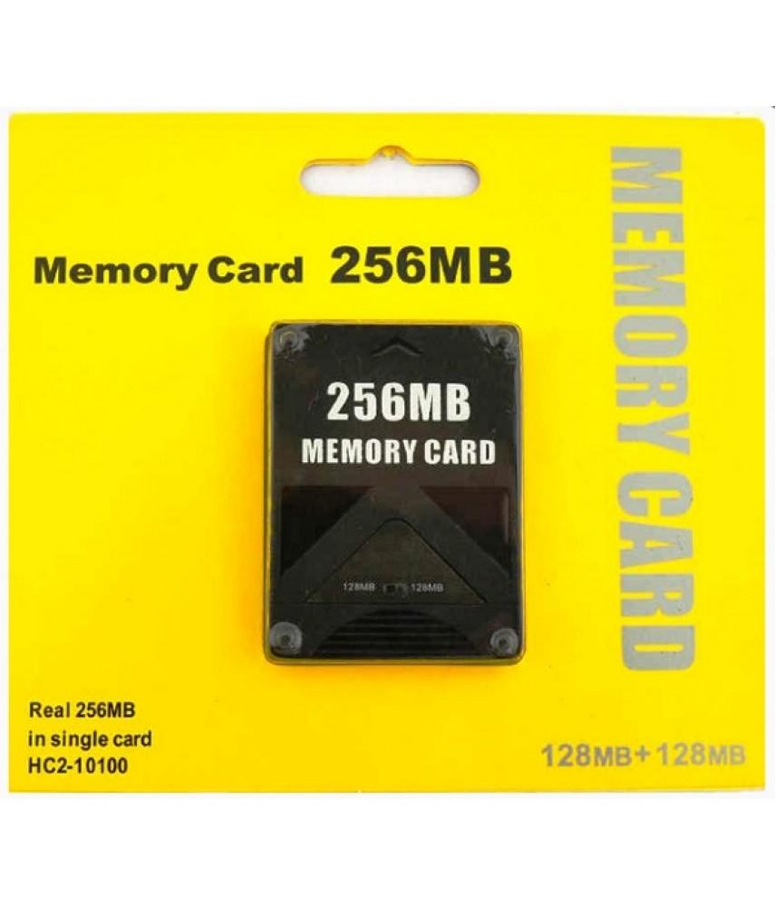 Карта памяти для PS2 256 Mb