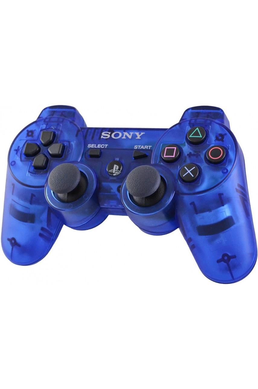 Dualshock 3 Crystal - беспроводной геймпад для PS3 (прозрачный) (OEM)