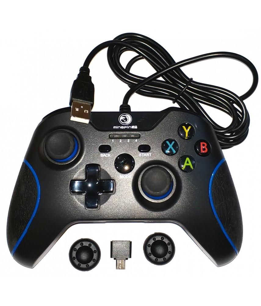 Джойстик проводной для PS3/PC/Android (MB-2199)