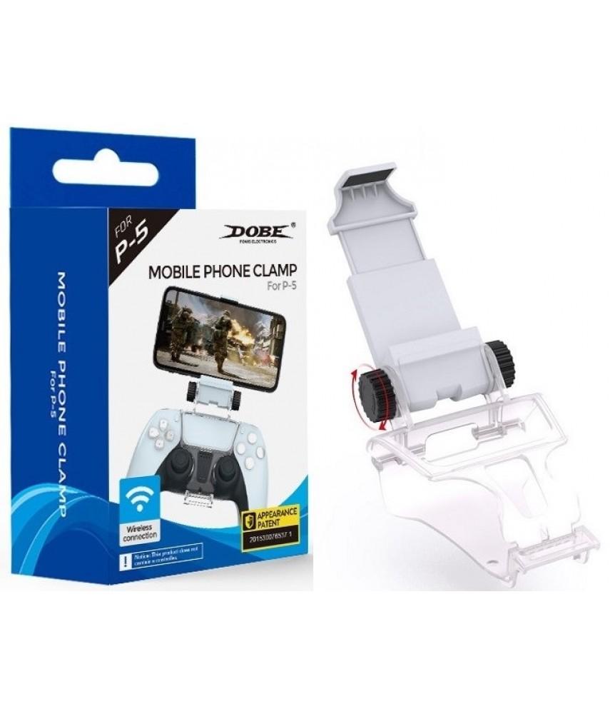 Крепление к геймпаду DualSense PS5 для игры на телефоне (DOBE TP5-0527B)